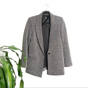 Tommy Hilfiger┃Gray Tweed Blazer Jacket